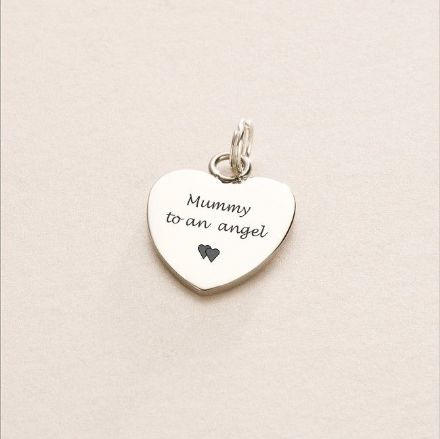 Mummy to an Angel Charm, Can be Personalised